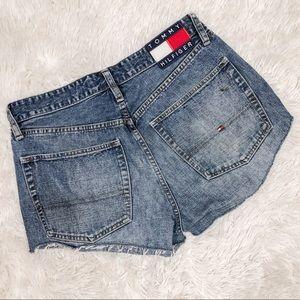 Vintage Tommy Hilfiger Cutoff Jean Shorts Size 4